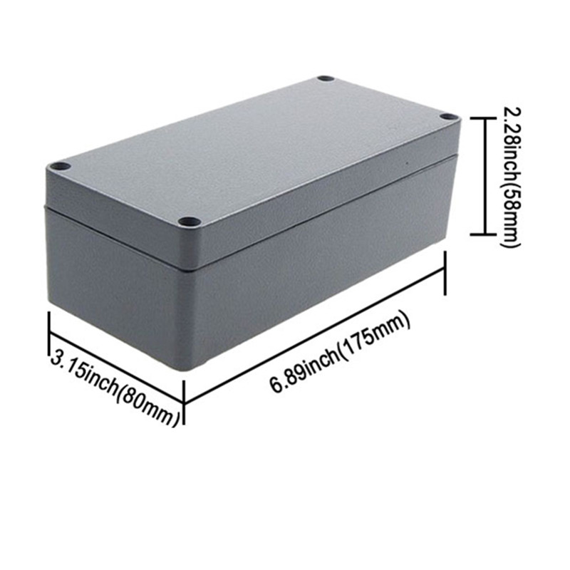aluminium extrusion box enclosure